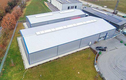 Neue Lagerhallen in Bretzfeld-Schwabbach