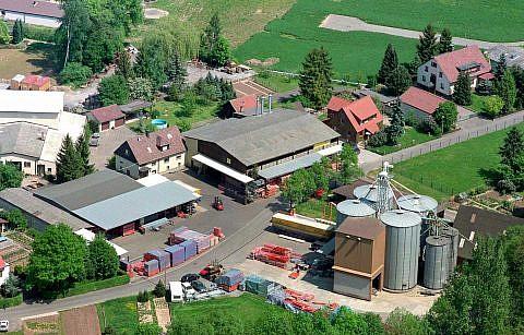 Erster Firmenstandort in Bretzfeld-Adolzfurt